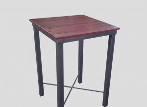 square bar high table