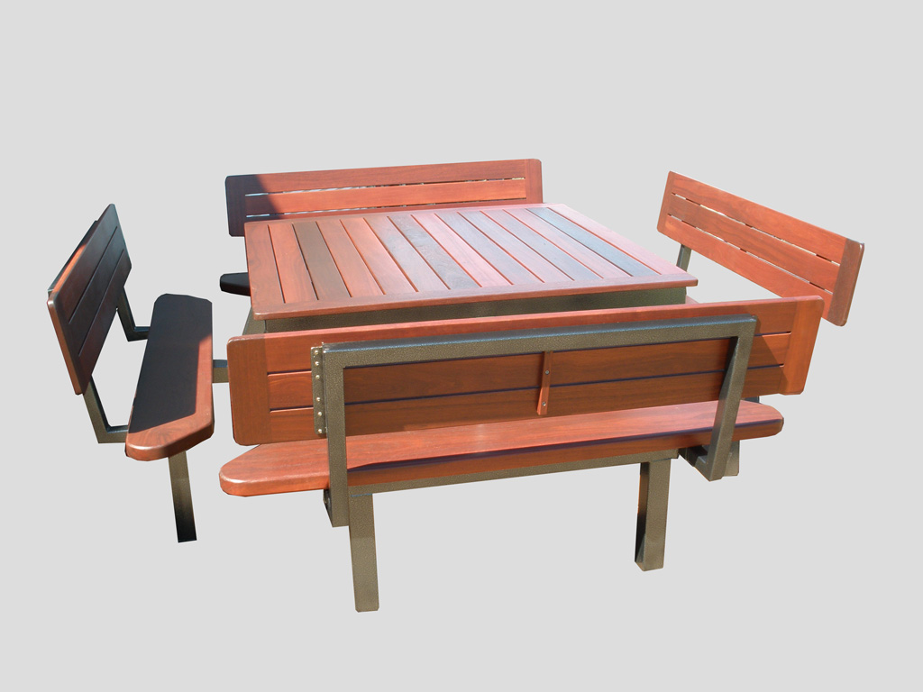 8 Seater outdoor table deluxe