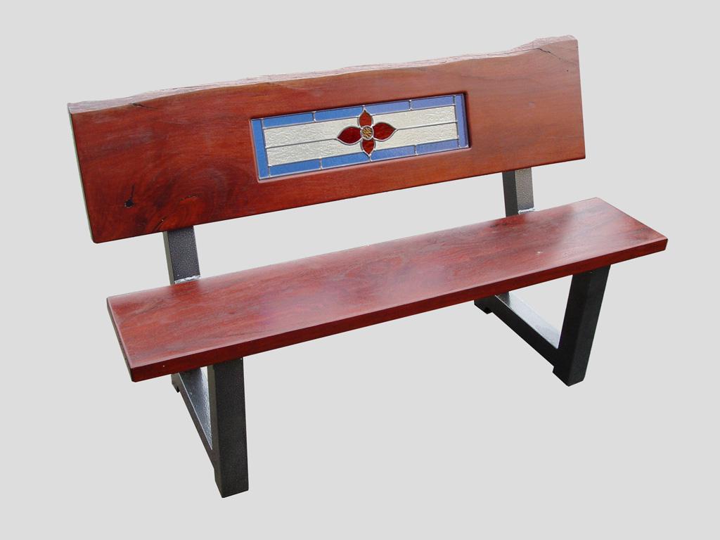 park bench seat