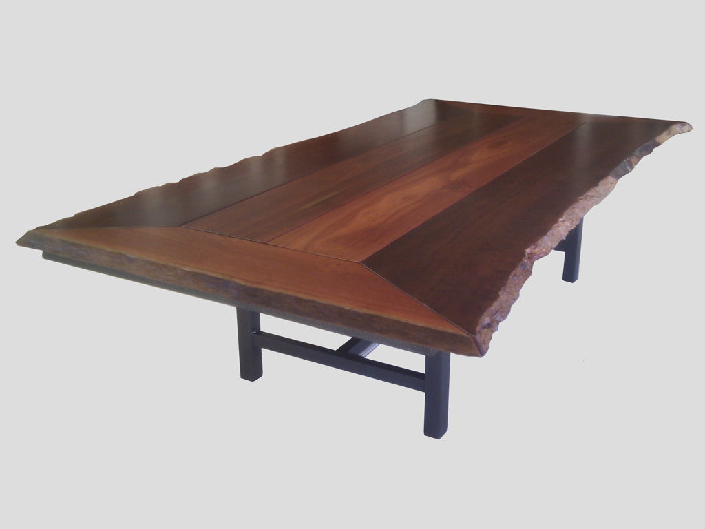 Natural Edge Timber Dining Table: Natural Edge Jarrah Dining Table