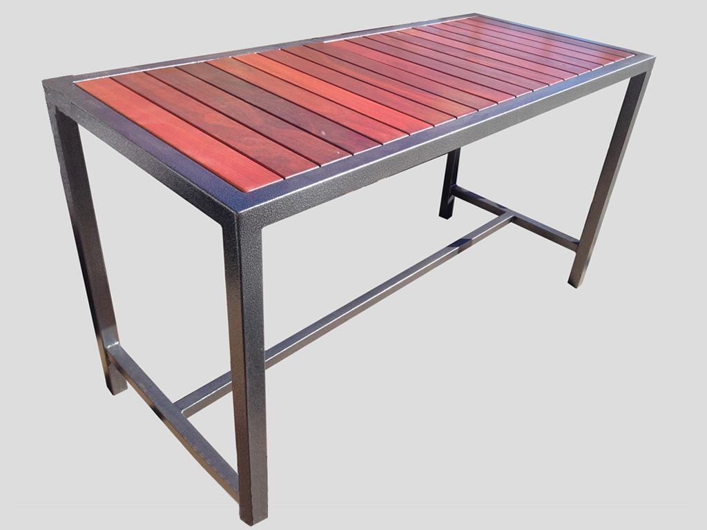 high table outdoor bar