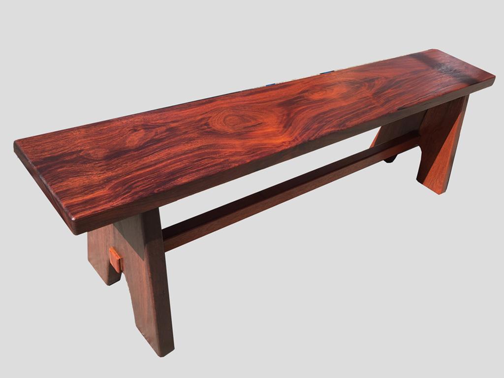 Outdoor bench seat all jarrah timber
