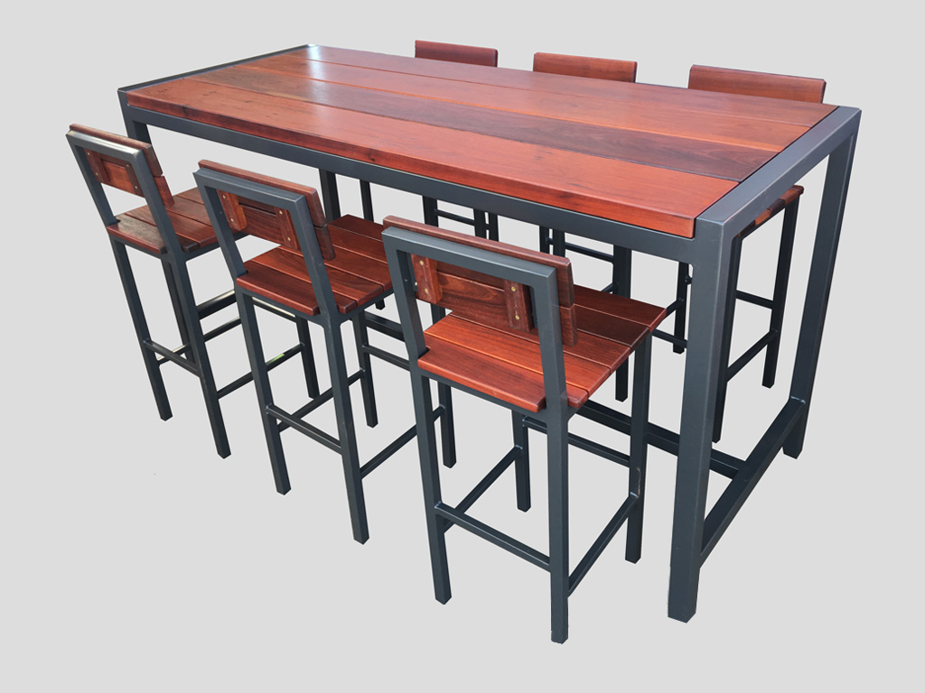 bar outdoor high table