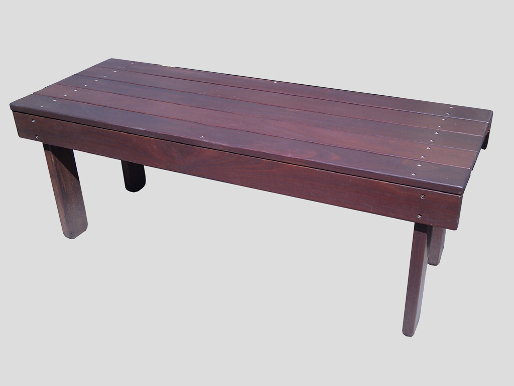 All Jarrah Bench Seat