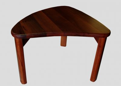 Coffee table jarrah custom