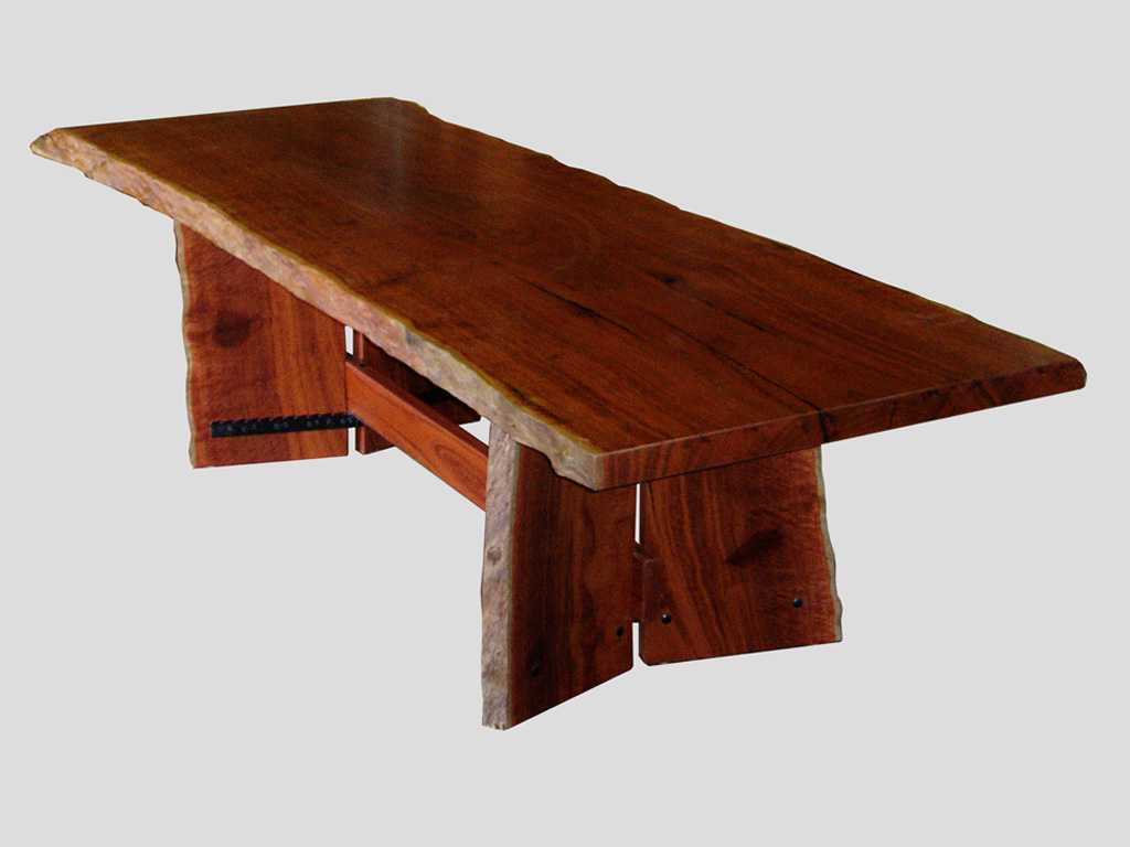 Jarrah Slab Dining Table