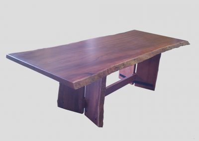 Jarrah slab table 4