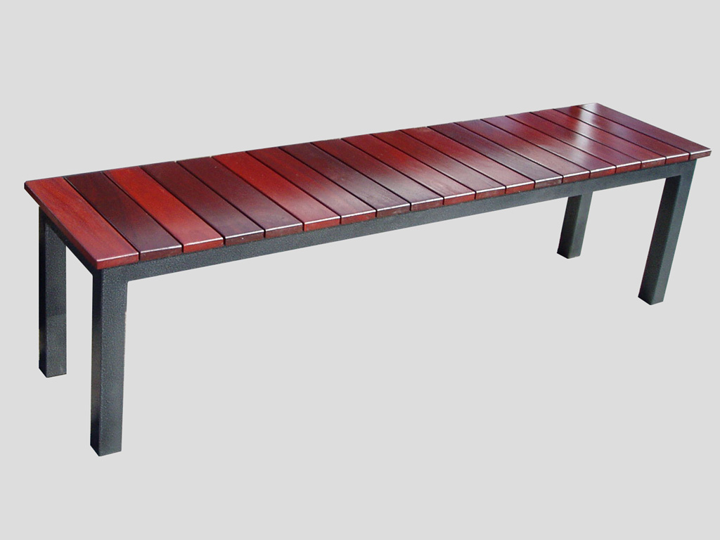 Bench Seat Jarrah Top